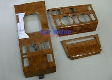Mercedes W124 E Class LIGHT WALNUT WOOD KIT 4pce on FACTORY PARTS (WKINDW124)