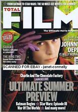 JOHNNY DEPP Nicole Kidman CHRISTOPHER LEE Steve McQueen Total Film Mag May 2005