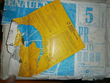 Renault 19 R19 hayon 5P : catalogue pièces PR1210-5 abimé