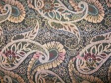 Textured Upholstery Fabric Paisley 8 Yards (All one Piece)