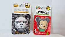 Disney Tsum Tsum Lip Smacker Mickey Jolly Jelly Bean & Storm Trooper Ice Cream