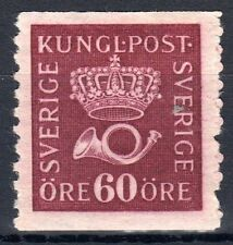 Sweden - 1920 Definitive Posthorn - Mi. 133Ax (watermarked) MH