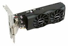 MSI GTX 1050 TI 4GT LP-Grafikkarten Nvidia GTX1050 Ti 1392 MHz 4 GB PCI-E