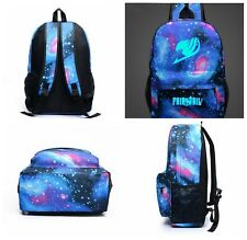 1PC Fairy Tail Leisure Canvas Backpack Cosplay swagger bag School Bag Hot Sell