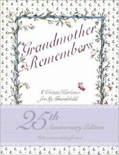 Grandmother Remembers: A Written Heirloom for My Grandchild, Judith Levy, Good C