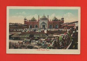India - Agra - Juma Masjid. (K7134)