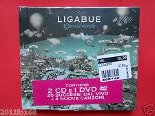 luciano ligabue live box set ligabue giro del mondo deluxe edition 2 cd + 1 dvd