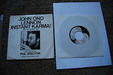 John Ono Lennon - Instant Karma (We all shine on) - Apple 1818 - US