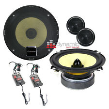 "Pioneer TS-D1330C Car Audio 5-1/4"" 2-Way D-Series Component Car Speaker System"