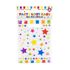 20x Party Loot Bags Kids Birthday Party Loot Treat Gift Sweet Toy Favor Bags