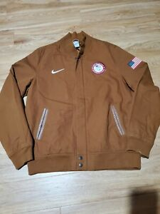 Nike Team USA Olympic Medal Stand Destroyer Bomber Jacket XL London 2012