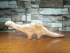 Wooden Dinosaur Puzzles Kids Toys Collectible Home Decore