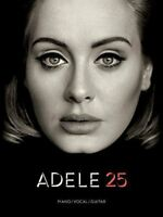 Adele 25 - Piano/Vocal/Guitar Book Sheet Music Songbook