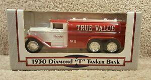 1992 ERTL 1/34 Scale Diecast 1930 Diamond T Tanker Bank True Value #9513