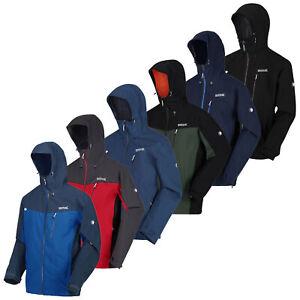 Regatta Birchdale Mens Jacket Waterproof Breathable Coat Articulated Sleeves