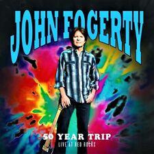 "John Fogerty - 50 Year Trip: Live at Red Rocks -NEW- (CD) ""SEALED [2CD VERSION]"