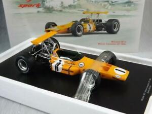 Denny Hulme Mclaren M7A Canadian GP 1967 1/18 Rare Spark Ford F1
