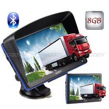 "7"" Car Gps Navigation System Bluetooth With Lifetime Us Eu Map Updates 8Gb 256Mb"
