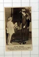 1920 Young Helpers League Basingstoke Helping Dr Barnardos Lady Irene Curzon