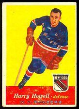 1957-58 TOPPS HOCKEY #51 HARRY HOWELL EX N Y NEW YORK RANGERS