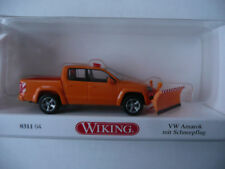 Wiking 0311 04 VW Amarok Pickup mit Schneepflug Maßstab 1:87