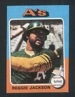 1975 Topps #300 Reggie Jackson NM/NM+ Athletics 124281