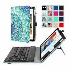 For iPad Mini 5 / Mini 4 / Mini 3 2 1 Bluetooth Keyboard Case Folio Stand Cover