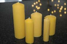 100% pure beeswax candles leaf hand rolled handmade