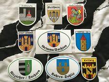 Wappen Aufkleber aussuchen Postleitzahl 06 Sachsen Anhalt 6 Städte und Gemeinden