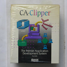 CA-Clipper 5.2 Intl for DOS (3.5) -Vintage Software (Complete package)