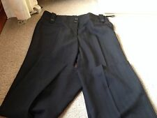 Ladies F&F BLACK TROUSERS Size 14 USED VERY LITTLE In Great Condition