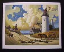 """Charles Wysocki Limited Edition Signed Print """"Dreamers"""" Excellent Condition"""
