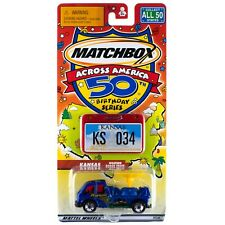 Matchbox Across America KS Kansas Weather Radar Truck #34 50th Birthday
