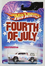 HOT WHEELS FOURTH OF JULY '57 CHEVY WHITE