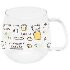 Glass Mug Cup Rilakkuma Bakery San-X Japan