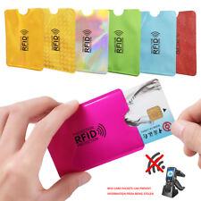 Cy_ 10Pcs Anti-magnetic RFID Blocking Sleeve Credit Card Protector Bank Card Hol