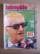 INTREPIDO n°12 1982 Enzo Ferrari Roberto Pruzzo Massimo Mauro  [G491]