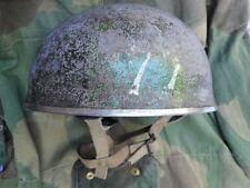 genuine WW2 1944 BMB HSAT BRiTiSH PARA PARATROOPER AIRBORNE HELMET & UNIT ID