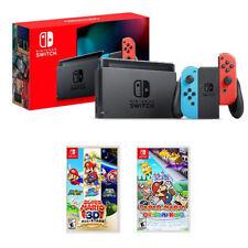 Nintendo Switch Console + Super Mario 3D All-Stars + Papel Mario: Origami King