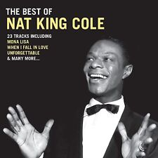 The Best of Nat King Cole CD Mona Lisa  When I Fall In Love Smile + more