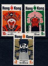Hong Kong Scott 296 - 298 Mint Hinged