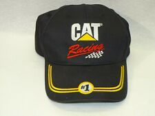 Vintage Cat Racing Black Snapback Hat  Nascar Caterpillar NEW MINT