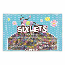 SWEETWORKS 4 oz Bag SIXLETS Chocolatey Candy/Candies EASTER Gluten Free NEW!