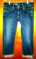 Ag Adriano Goldschmeid women's the tomboy crop , relaxed straight crop size 28