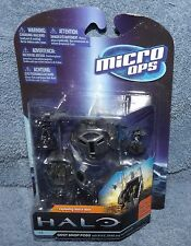 MCFARLANE HALO MICRO OPS SERIES 1 ODST DROP PODS W/BUCK, DARE & THE ROOKIE