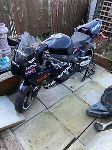 Honda cbr 1000 track bike