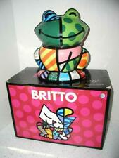 NEW in BOX! ROMERO BRITTO FROG Pop Art Cookie Jar Canister