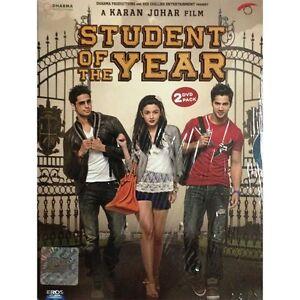 Student Of The Year (Hindi DVD) (2012) (English Subtitles) (Brand new)