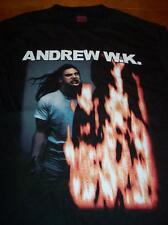 ANDREW W.K. FIRE T-Shirt XL WK NEW