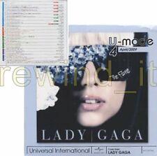 RARE CD PROMO U-MODE JAPAN UNIVERSAL INTERNATIONAL- LADY GAGA EMINEM U2 50 CENT